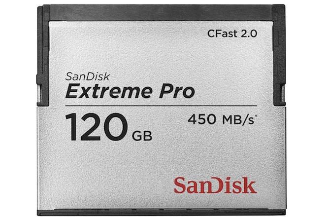 SanDisk Extreme card