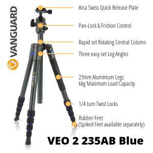 Save £40 On Vanguard's VEO 2 235AB Tripod!
