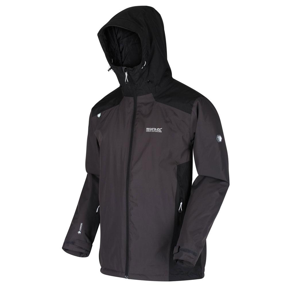 Men's Thornridge II Waterproof Insulated Walking Jacket Ash Black