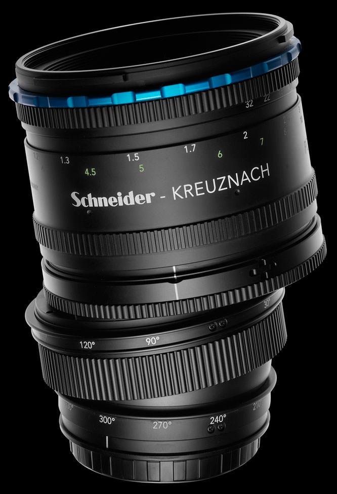 Schneider Kreuznach 120mm tilt-shift LS lens