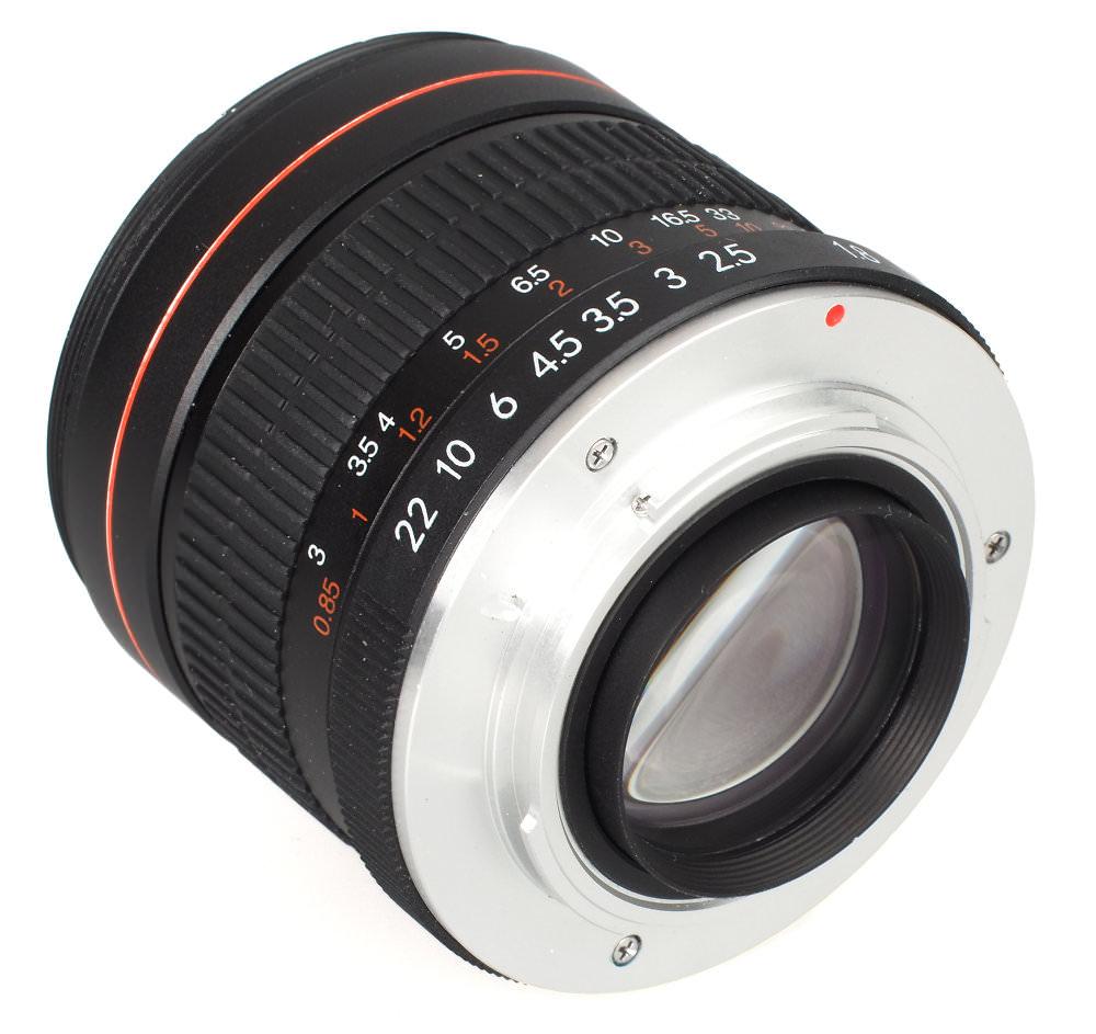 Keilii Kelda 85mm F1 8 Lens (8)