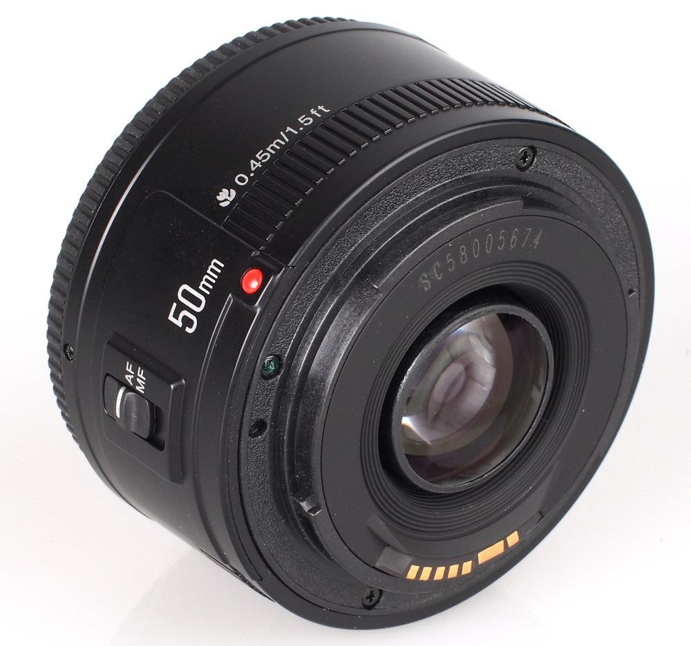 Yongnuo 50mm F1 8 Canon EF (5)