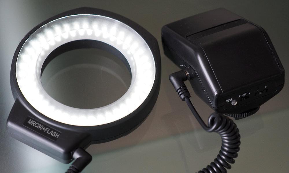 MRC 80+FLASH LED Ring Light
