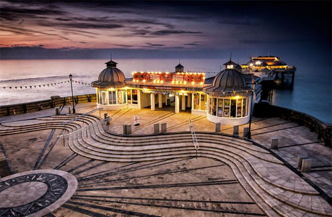 Twilight Decends on Cromer Pier
