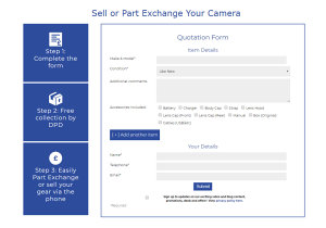 Sell Your Old Photography Gear From Your Home With Park Cameras