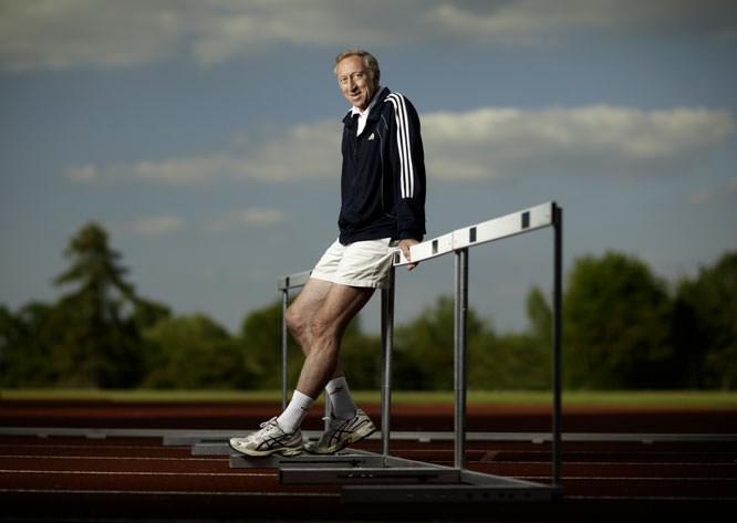 David Hemery, Olympic Gold Medalist, 400m Hurdles, Mexico 1968