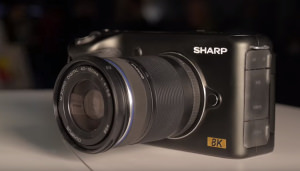 Sharp 8K Micro Four Thirds Prototype
