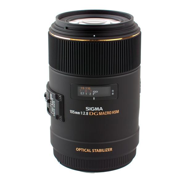 Sigma 105mm f/2.8 EX DG OS HSM Lens