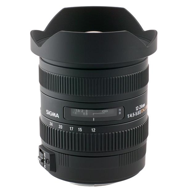 Sigma 12-24mm f/4.5-5.6 EX DG HSM II Lens