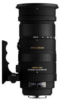 Sigma 50-500 f5-6.3 DG OS HSM