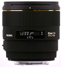 85mm f1.4 EX DG HSM