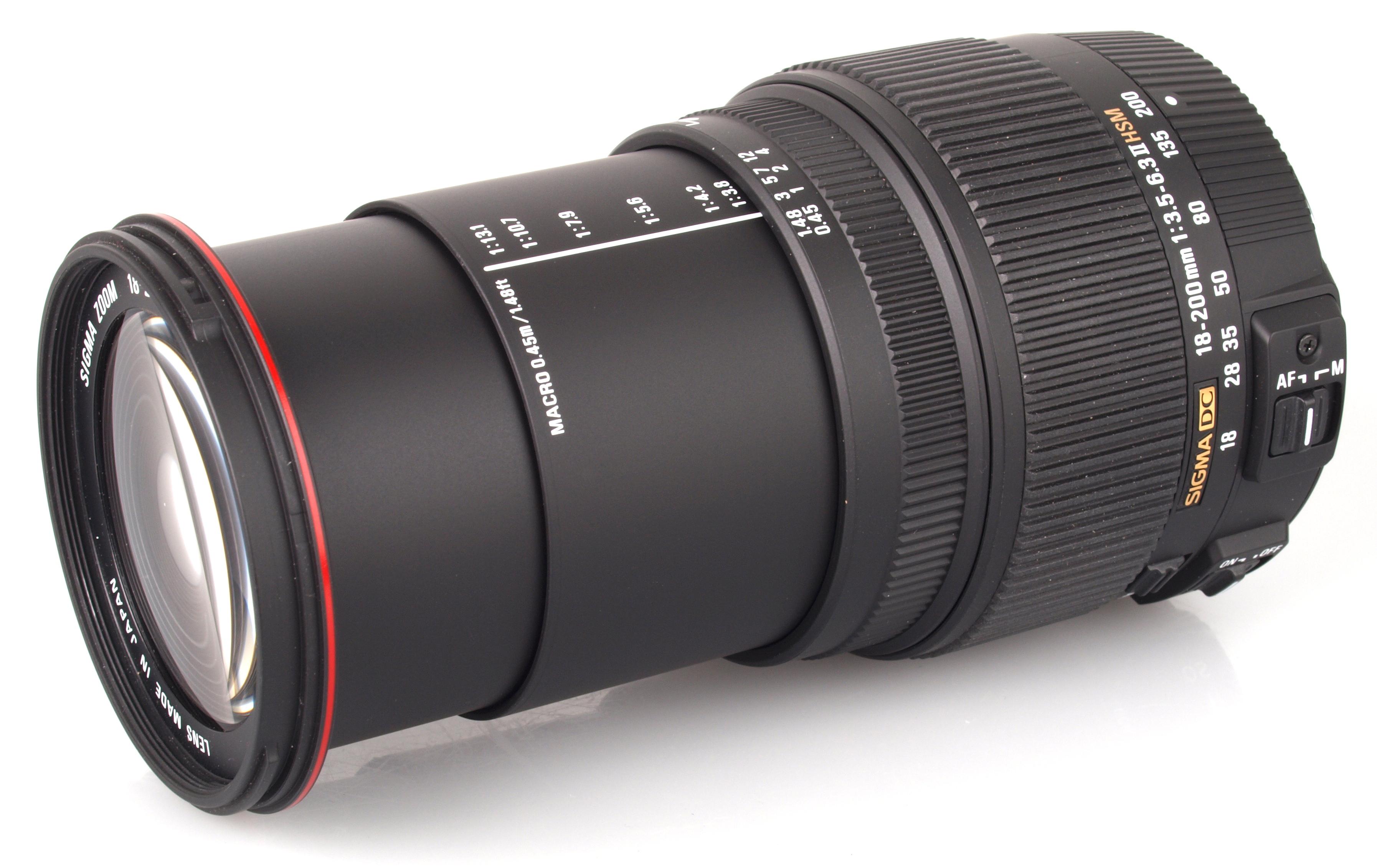 Sigma 18-200mm f/3.5-6.3 DC Macro OS HSM C Lens Review