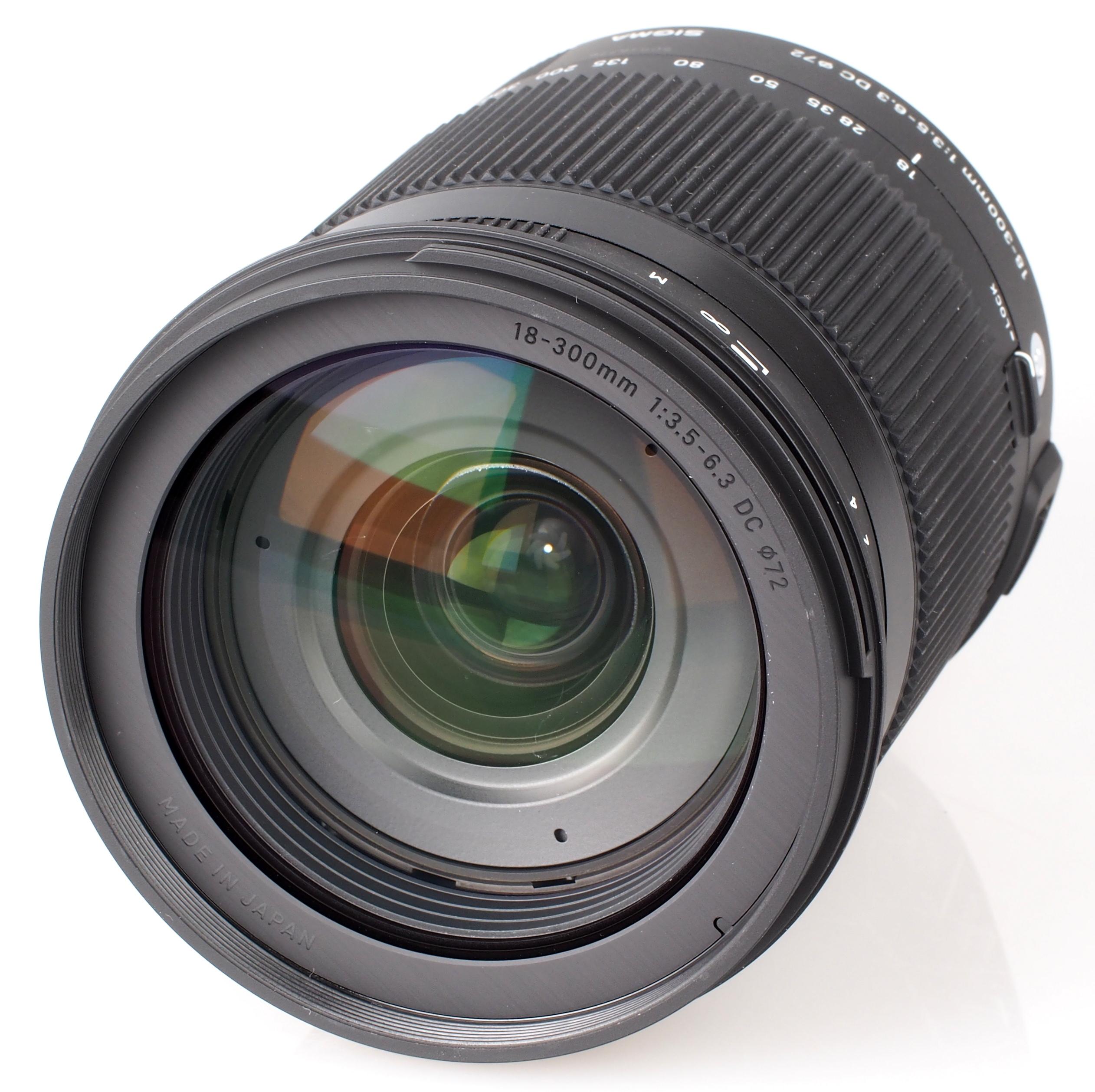 Sigma 18-300mm f/3.5-6.3 Macro OS HSM C Lens Review