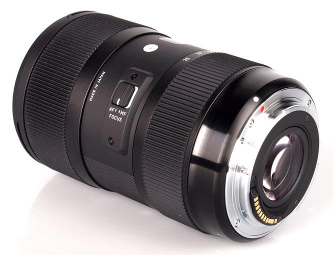 Sigma 18 35 F18 Dc A Lens (5)