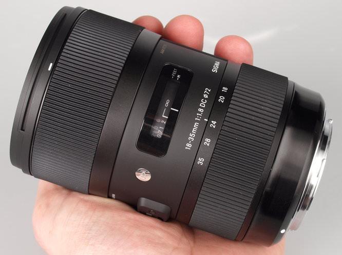Sigma 18-35mm f/1.8 DC初步測試