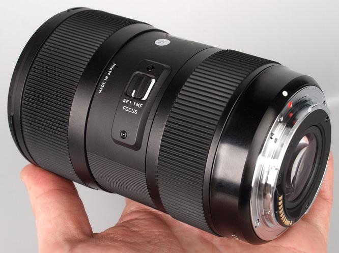Sigma 18 35 F18 Dc A Lens (16)