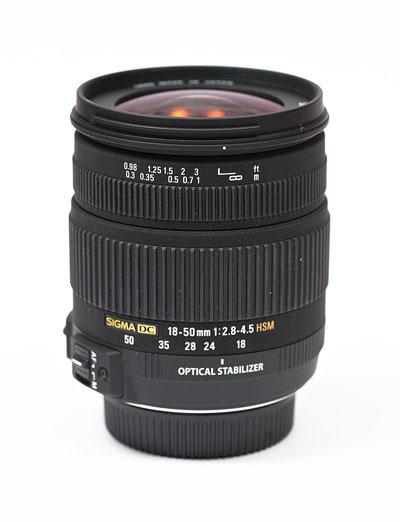 Sigma 18-50mm f/2.8-4.5 DC OS HSM main image