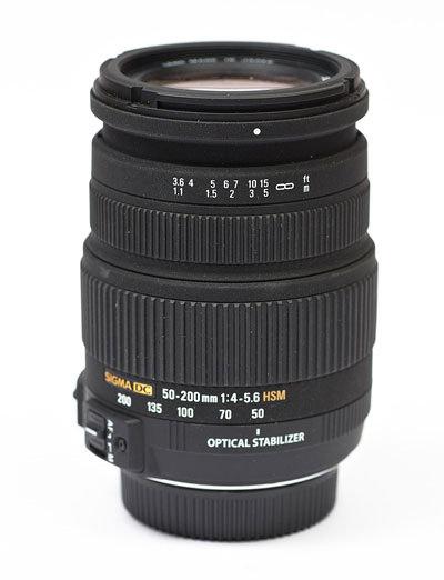 Sigma 50-200mm f/4-5.6 DC OS HSM main image