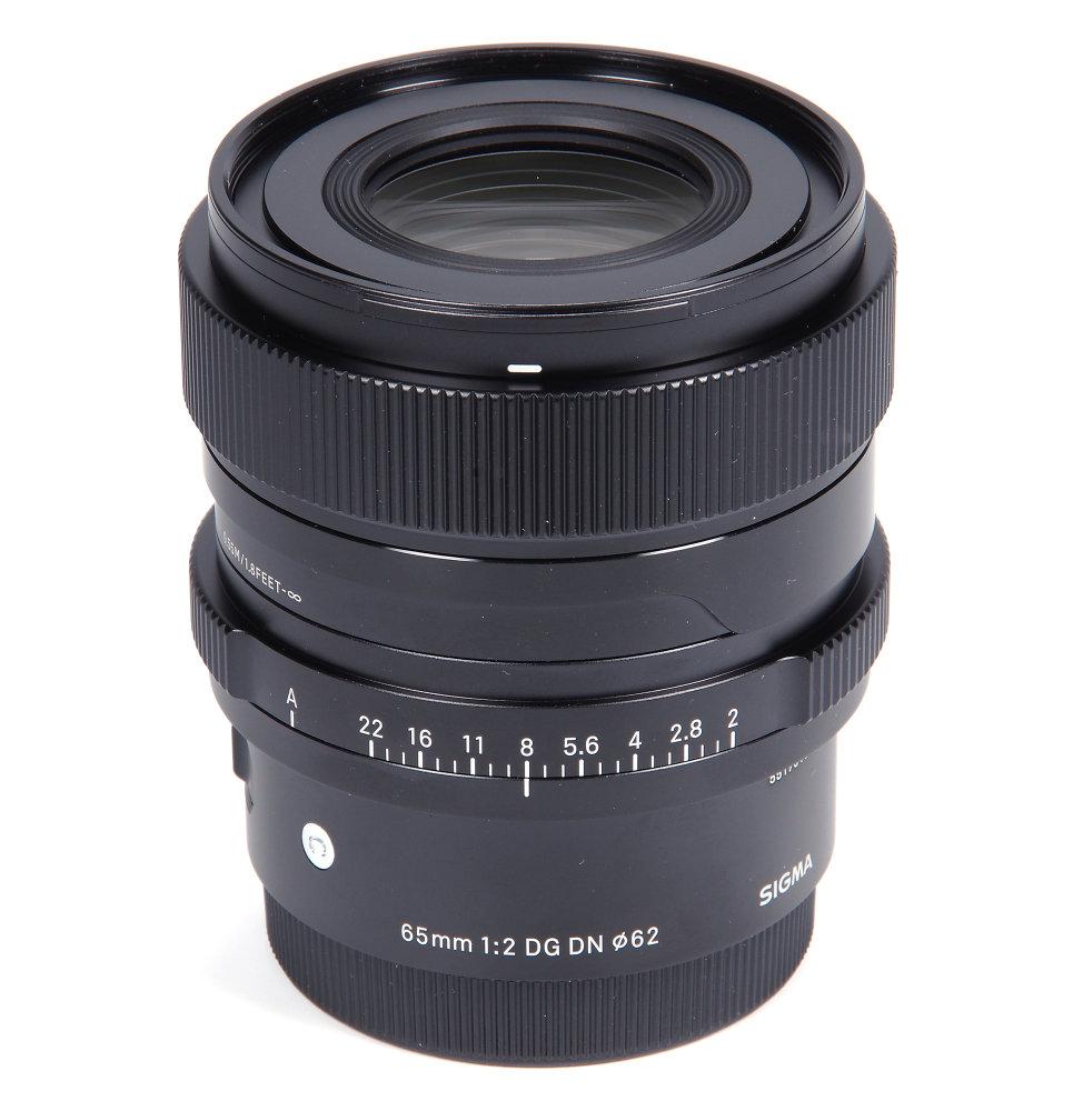 Sigma 65mm F2 Vertical View