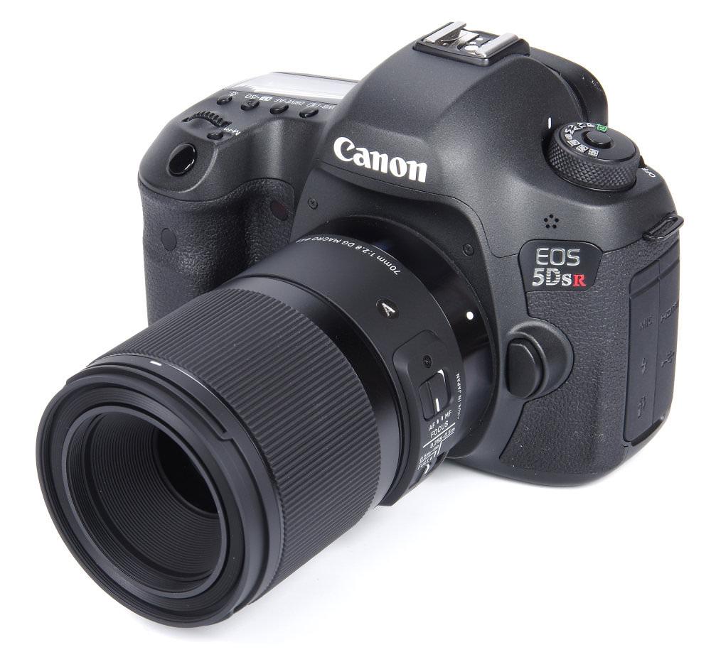 Sigma Af 70mm F2,8 Dg Macro Art Lens No Hood On Canon 5dsr