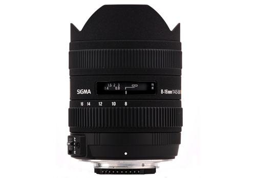 Sigma 8-16mm f/4-5.6 DC HSM
