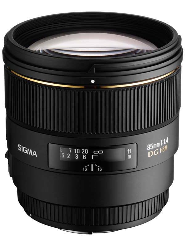 Sigma 85mm f/1.4 EX DG HSM
