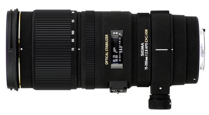 Sigma APO 70-200mm f/2.8 EX OS HSM Lens