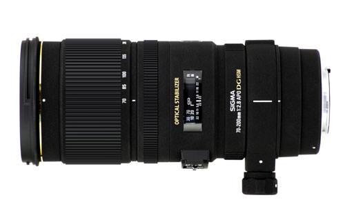 Sigma APO 70-200mm F2.8 EX DG OS HSM lens