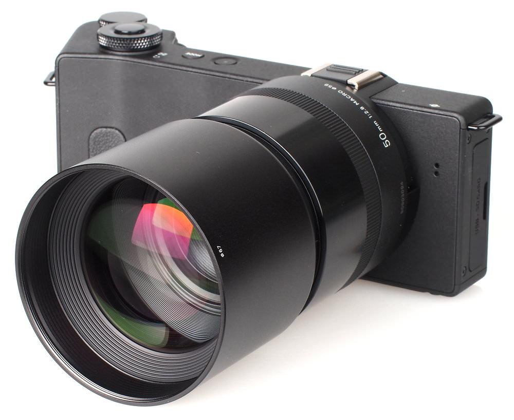 Sigma Dp3 1 2x FT 1201 Conversion Lens (2)