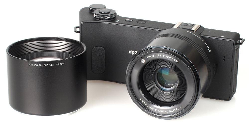 Sigma Dp3 1 2x FT 1201 Conversion Lens (3)