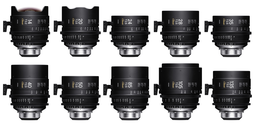 Sigma CINE Lens Classic Prime