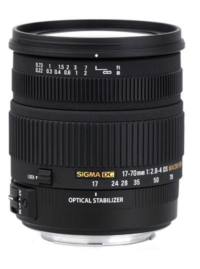 Sigma 17-70mm f/2.8-4 DC Macro OS HSM