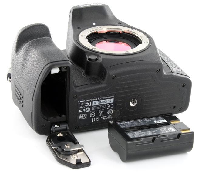 Sigma SD1 Bottom Battery