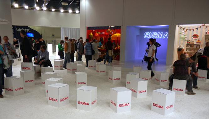 Sigma Stand Photokina 2012