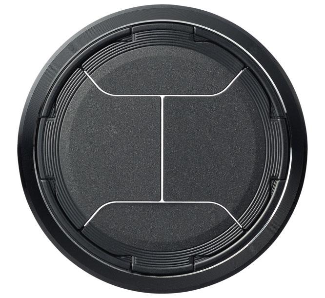 Black LC-63A lens cap