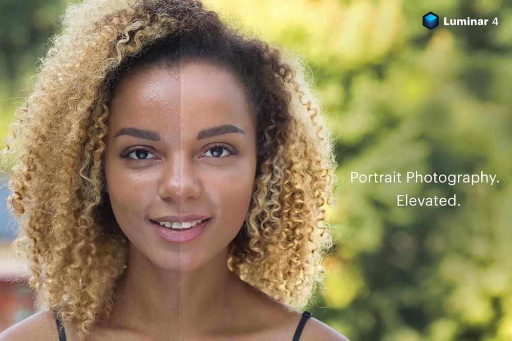 Luminar 4 skin enhancer
