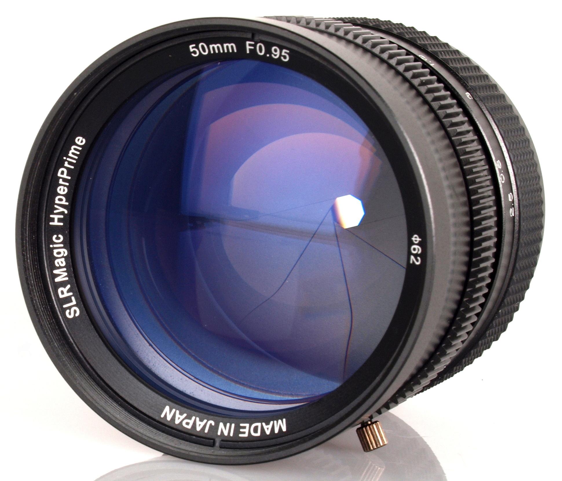 SLR Magic 50mm f/0.95 ...