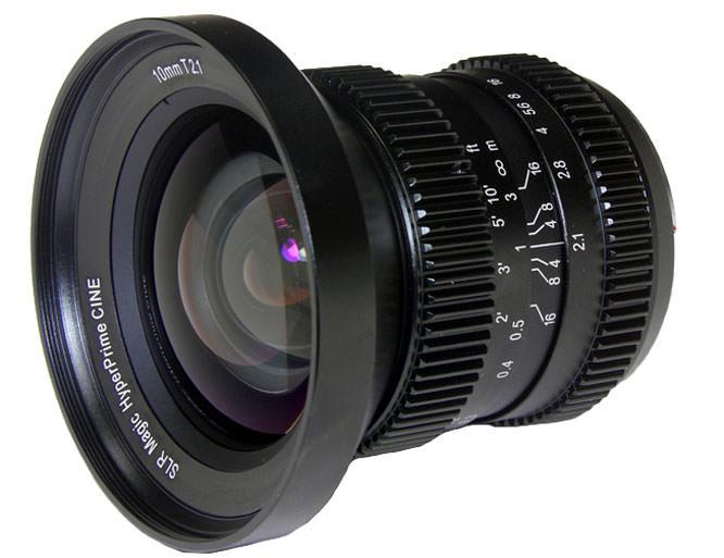 SLR magic 10mm lens