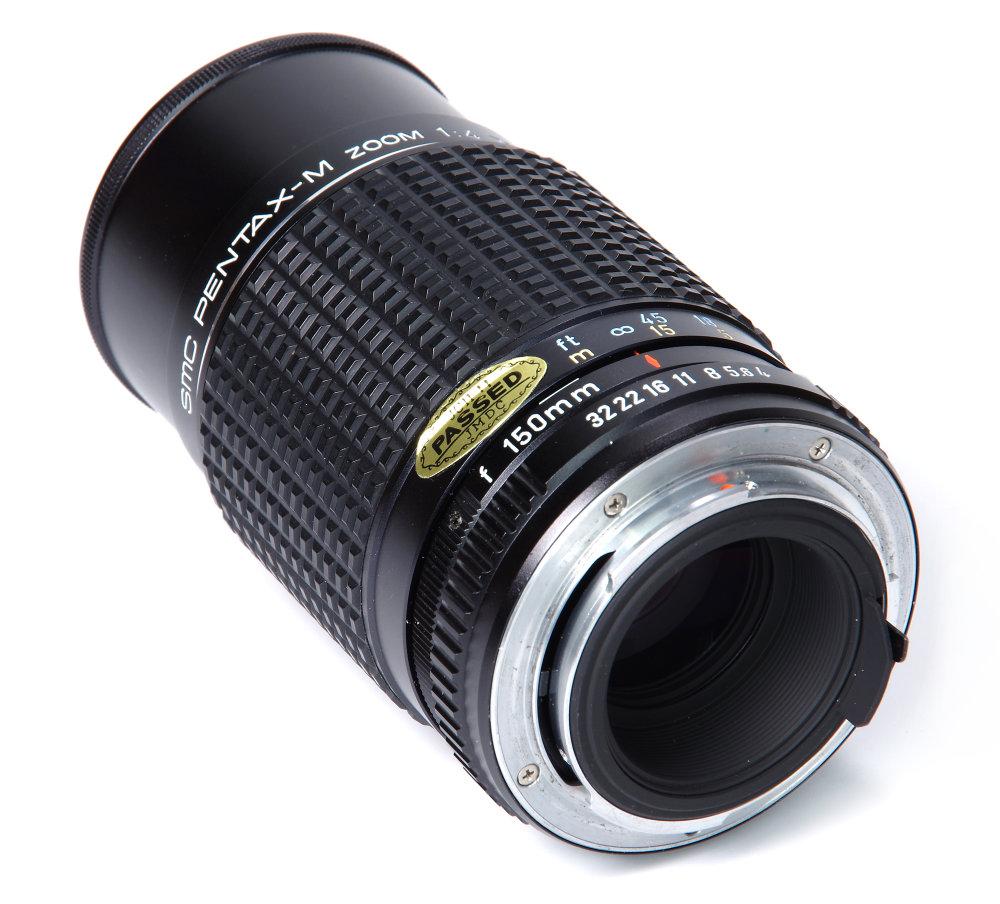 Smc Pentax M 75 150mm F4 Rear Oblique View