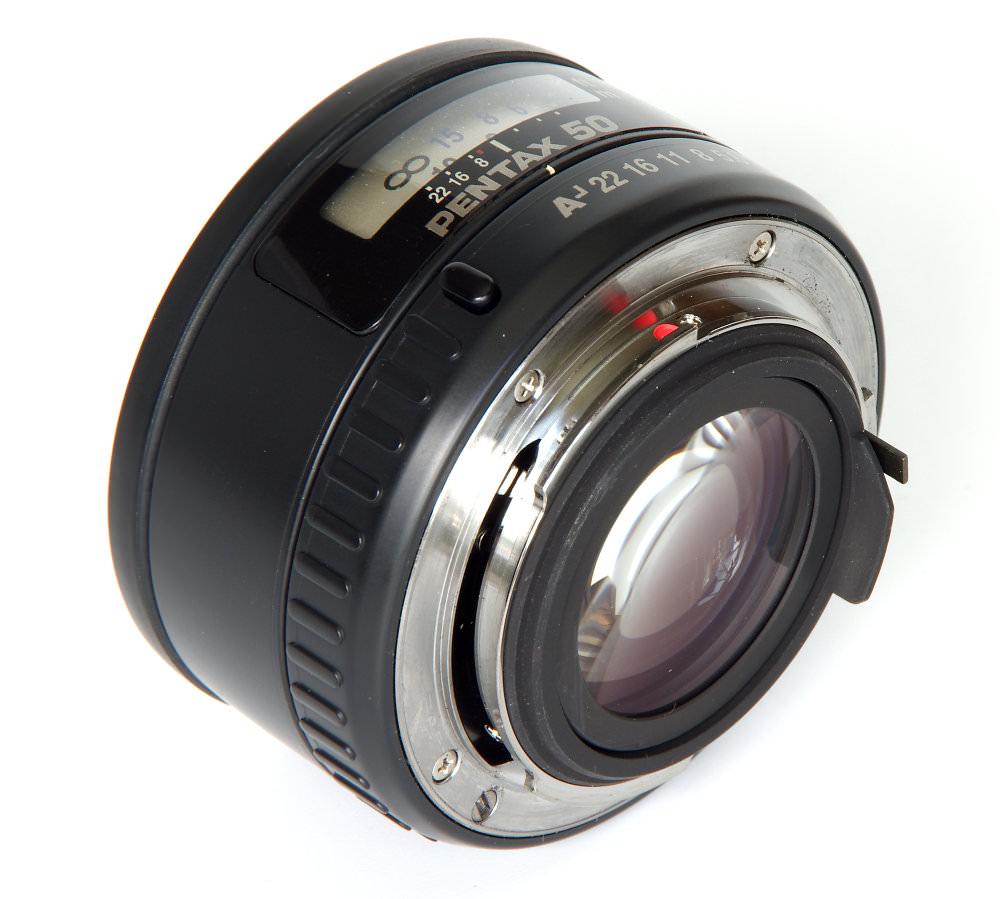 Pentax 50mm F1,4 Oblique Rear View