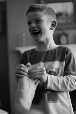 Smile photography competition winner. Photo by John Llywarch