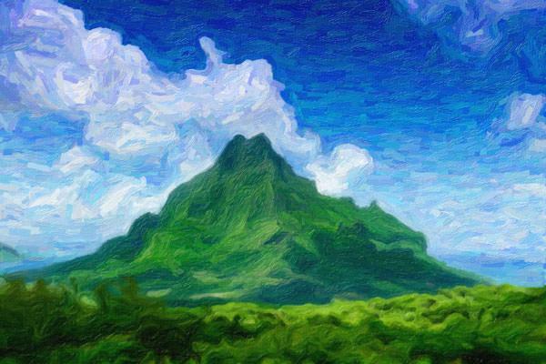 Mountain Impasto