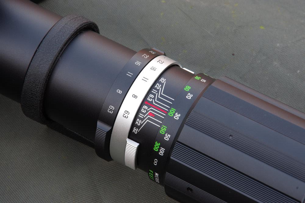 Soligor 400mm F6,3 Close Up Detail
