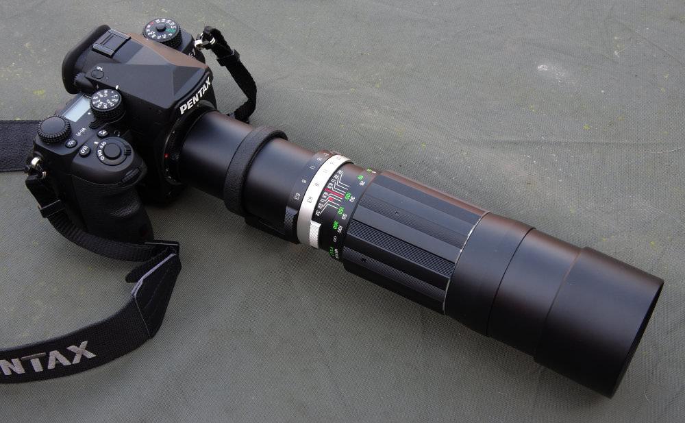 Soligor 400mm F6,3 On Pentax K 1
