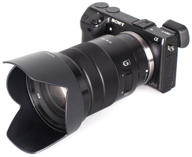 Sony G 18 105mm OSS Lens (1)