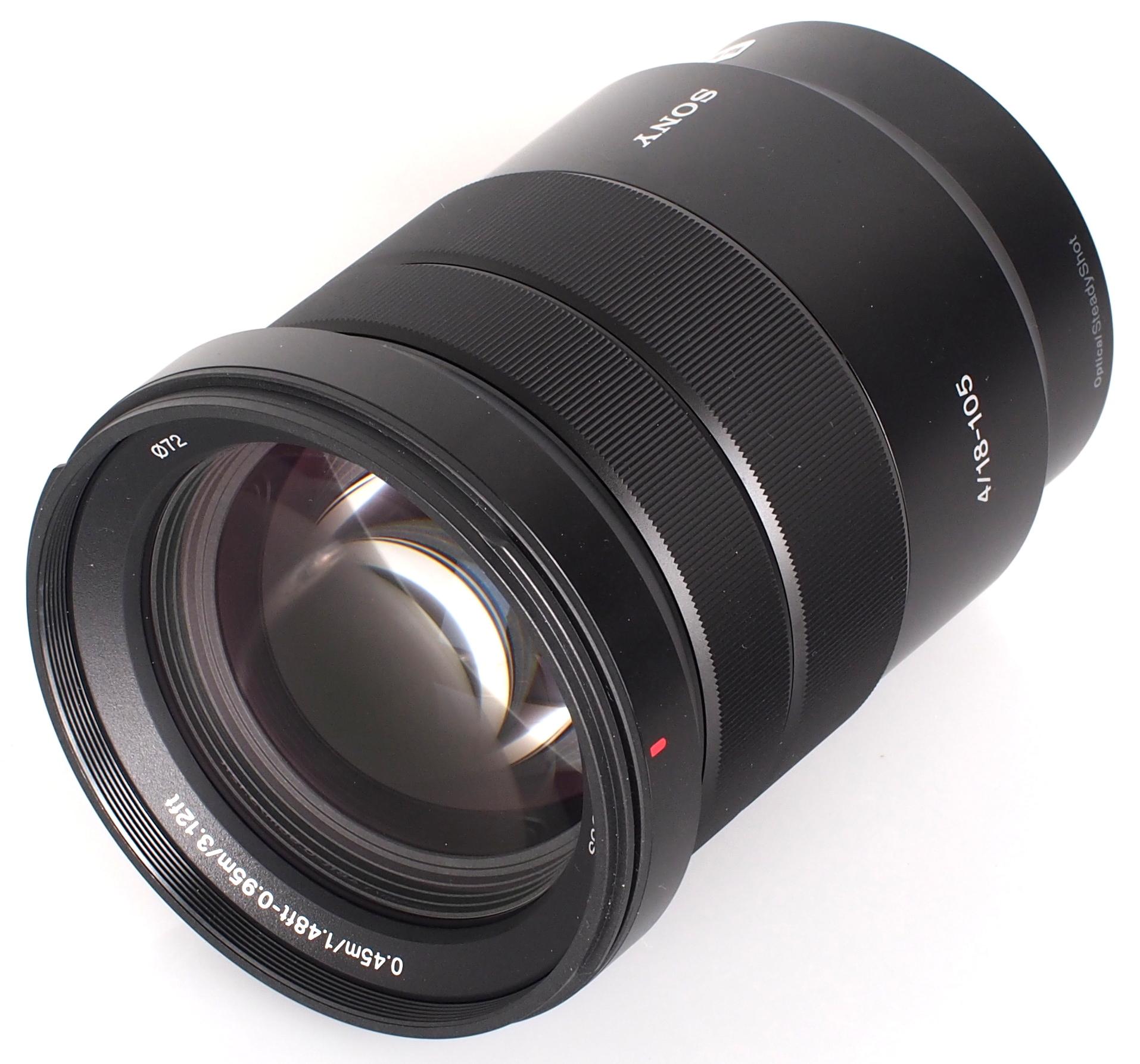 Sony E PZ 18-105mm F4 G OSS ( SELP18105G ) Lens | Digital