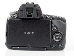 Sony Alpha A33 Digital SLT screen closed