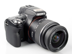 Sony Alpha A33 Digital SLT with 18-55mm lens