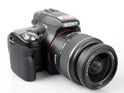 Sony Alpha A33 Digital SLT with 18-55mm lens