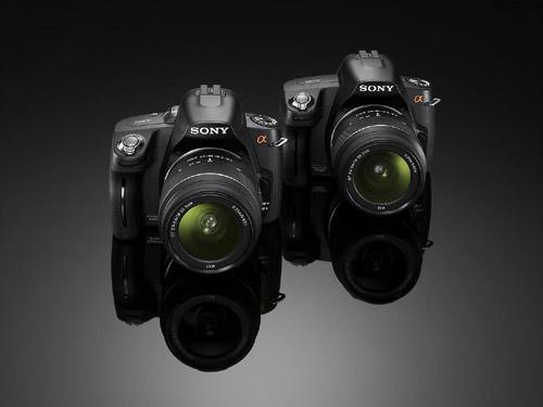 Sony A390 & A290 Digital SLR Cameras